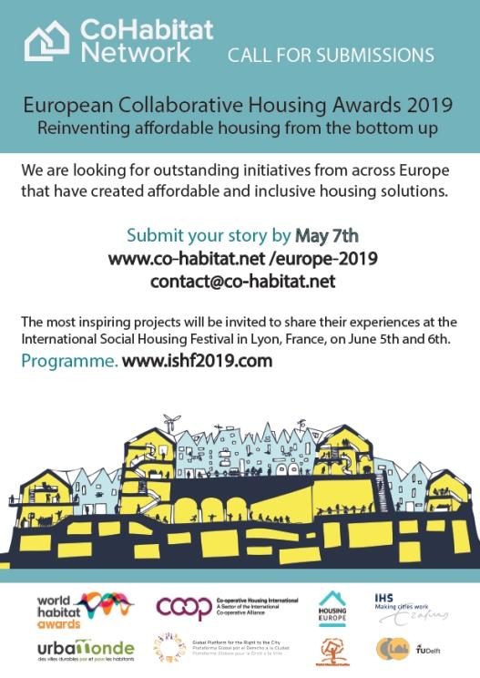Call for European collaborative housing award 2019