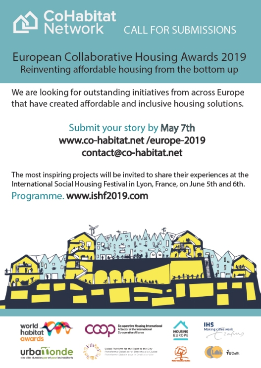 Call for European collaborative housing award 2019